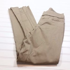 Lee Womens size 8 Dress Pants Natural Fit Barely